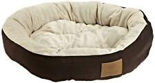New Round Pet Bed Dog Cat Pad Medium Warm Soft Mat Puppy Cushion Cozy Free Ship