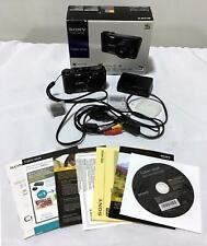 Sony Cyber-Shot 10.2-Megapixel Digital Camera DSC-HX5V - Black #61542