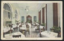 Postcard MATANZAS CUBA  Hotel Paris Restaurant Interior view 1910's