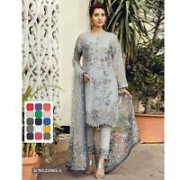 Indian Pakistani Anarkali Salwar Kameez Designer Shalwar Party Fertiges Kleid
