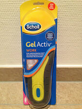 Dr. Scholl's GEL Activ Work Insoles, Size 3.5 to 7.5