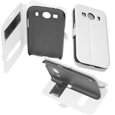 custodia eco pelle bianca cover View Stand per Samsung Galaxy Grand Prime VE