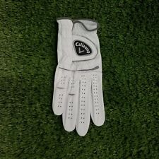 Callaway MediumLeather Golf Glove Worn On Right Hand One Piece Design M