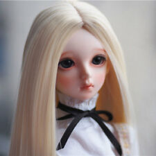 8-9-10 1/3 BJD Blonde Long Wig LUTS Doll SD DZ DOD MSD Pullip Dollfie Hair