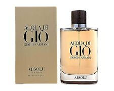 Giorgio Armani Acqua Di Gio Absolu Eau De Parfum Spray 3.4 Fl Oz Men
