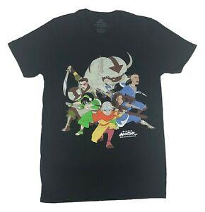 Avatar The Last Airbender Men's T Shirt Group Shot Graphic Tee