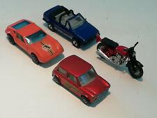 4x Matchbox Superfast Monteverdi Hai, Racing Mini, Hondora, Ford Escort XR3i