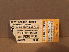 Reo Speedwagon Concert Tickets Stub 12-31-1980 Indianapolis IN