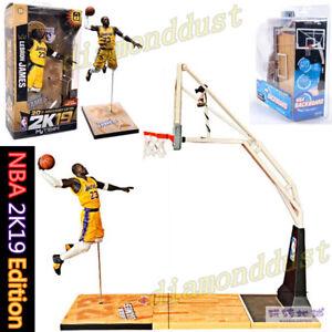NBA #23 LeBron James Lakers Basketball Backboard Action Figure Kid Toy Figurines