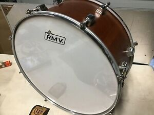 "Latin percussion Rmv  18""x 8""  wood drum"