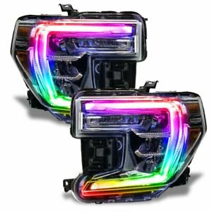 For 2019-2020 GMC Sierra  ColorSHIFT RGB+W Headlight DRL Upgrade Oracle