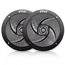 Waterproof Rated Marine Speakers, Low-Profile Slim Pair, 5.25''-inch (180 Watt)