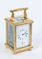 Antique vintage French Carriage Clock 1890-1900
