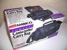 Camcorder Carry Bag by AMBICO V-4498 w/ Original Packaging