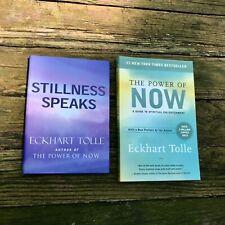 "ECKHART TOLLE | Lot (2): POWER OF NOW + STILLNESS SPEAKS | ""Essential"" —OPRAH"