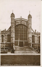 PC23102 Entrance to St. Georges Chapel. Windsor Castle. Excel. 1935. RP