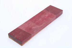 Purpleheart Bowl Knife Cue Pen Call Exotic Wood Turning Blank Lumber 1 x 3 x 11