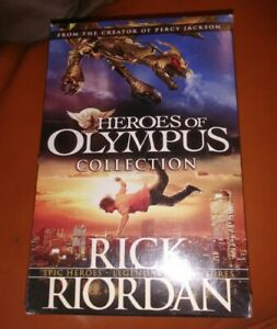 The Heroes of Olympus by Rick Riordan The Complete 4 Books Collection Box Set