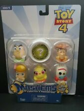 Toy Story 4 Mash'Ems - W/ Mystery Glow In The Dark Series 1 - 6 Mashems - New