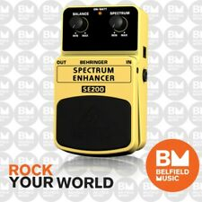 Behringer SE200 Spectrum Enhancer Effects Pedal SE-200 FX - Brand New - BM