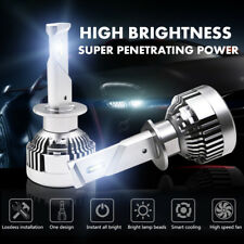 H1 CREE CSP LED Headlight Conversion Kit 1840W 276000LM Bulb High Low Beam 6000K