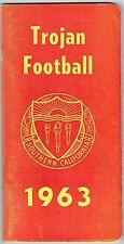UNIVERSITY OF SOUTHERN CALIFORNIA 1963 FOOTBALL MEDIA GUIDE