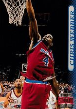 1996 Topps Stadium Club #65 Chris Webber Washington Bullets Basketball Card