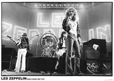 LED ZEPPELIN - VINTAGE MUSIC PHOTO POSTER - 23x33 UK IMPORT EARLS COURT 9180