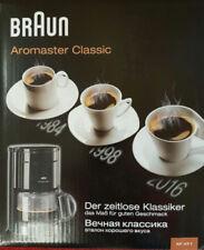 Braun Kaffeemaschinen aus Kunststoff mit abnehmbarem Abtropfbehälter