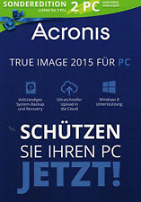 Acronis True Image 2015 Sonderedition Software
