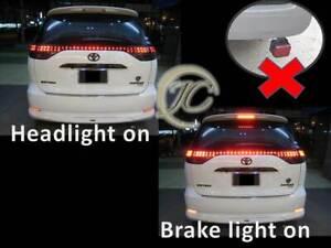IMPORT VELLFIRE ALPHARD REAR LIGHT COB LED BMW LCI BUMPER FOG LIGHT REFLECTOR