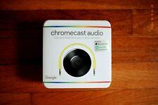 New in Sealed Packaging - Google Chromecast Audio Media Streamer, 2nd Generation