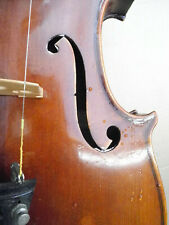 "Old fine french violin, label ""Marcellus Robin a Bordeaux 1923"""