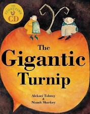 NEW: Barefoot Books SALE 1/2 Price ~ The Gigantic Turnip with STORY CD