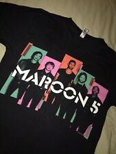 Vintage Maroon 5 Band 2013 North America Tour Concert T Shirt. Men's S