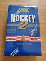 1993-94 NHL Score Hockey Series 2 Wax Box Factory Sealed ERIC LINDROS Free Ship