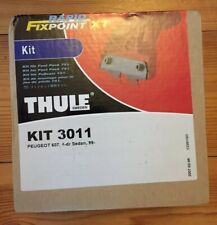 THULE FITTING KIT 3011 PEUGEOT 607, 4-dr Sedan, 99-10