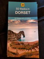**NEW PB** AA 50 Walks in Dorset (2017) Buy 2 books & SAVE