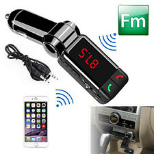 12V Car Kit Wireless Bluetooth FM Transmitter MP3 Player 2 USB Handsfree Speaker
