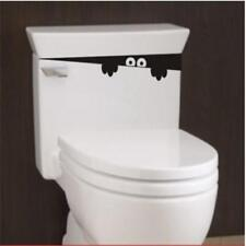 Funny Toilet Sticker Bathroom Seat Monster Removable Decals DIY 6T