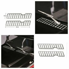 Metal Engine Vent Cooling Grille Cover for 1/10 RC Traxxas TRX4 Ford Bronco