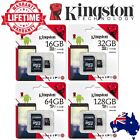 SD SDHC SDXC MicroSD Card 32GB 64GB 128G 16G Kingston Class10 Camera Memory Card