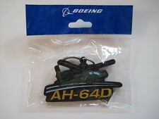Boeing AH-64 AH-64D Apache Keychain Ring Key Fob Chain Attack Helicopter US Army