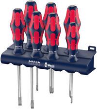 Wera Red Bull Racing 7pc Screwdriver Set Kraftform Plus Lasertip + Rack 7-piece