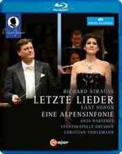 Richard Strauss: Last Songs/An Alpine Symphony  Blu-ray NEW