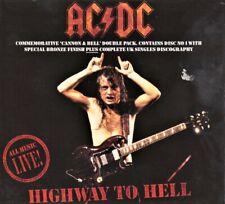 AC/DC -CD1 + CD2  Singles(Digipak) Highway To Hell ( Live ) 1992 ATCO B8479CDX