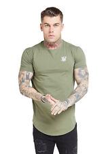 SikSilk T-Shirt Core Gym T-Shirt SS-15813 Khaki