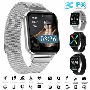Smart Watch ECG Blood Pressure Oxygen Heart Rate Waterproof IP68 Sport Bracelet