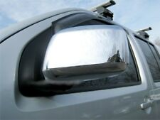 Fits Nissan NAVARA D40 2006-2015 Chrome Wing Mirror Cover 2Pcs S.Steel