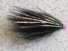Hot Cone Head Marabou Tube Fly Fishing Flies Salmon Steelhead Trout Spey